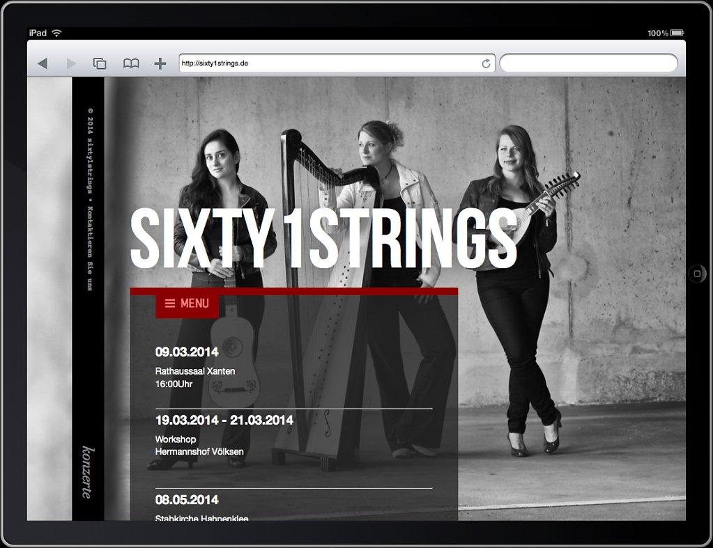 Sixty1Strings - faszinierende Zupfmusik