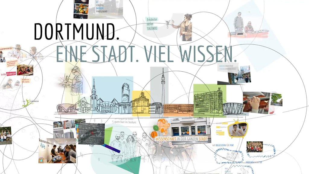 Dortmund. Eine Stadt. Viel Wissen.