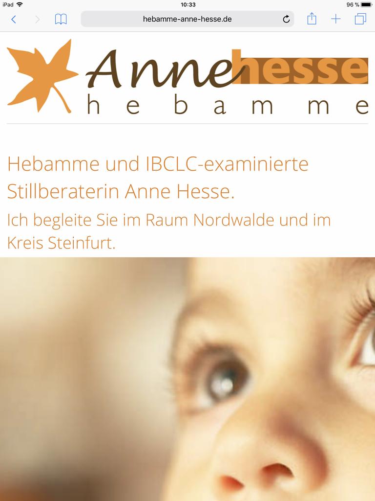 Hebamme Anne Hesse